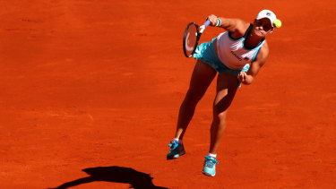 Ashleigh Barty is the eighth seed for the French Open.