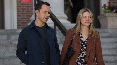 Ribisi stars with Marin Ireland in the cleverly made crime caper.