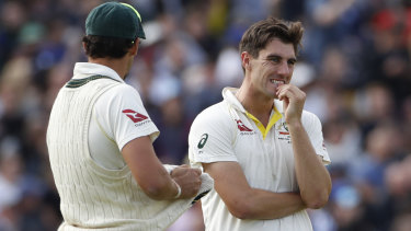 Pat Cummins is in doubt for the fifth Ashes Test.