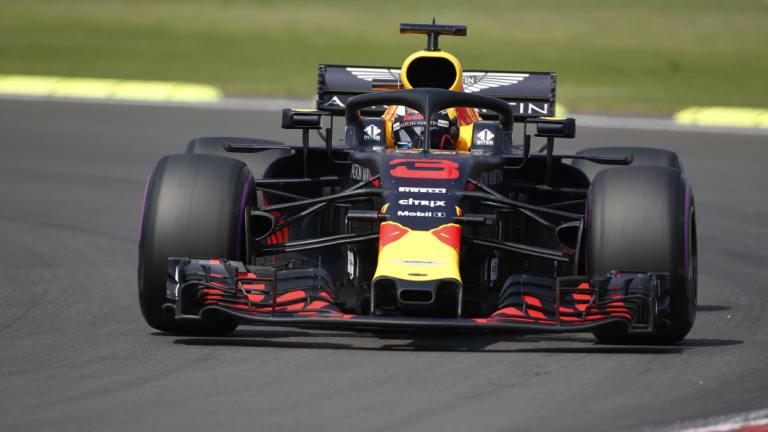 Strong start: Daniel Ricciardo.