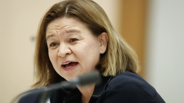 The ABC's former managing director Michelle Guthrie.