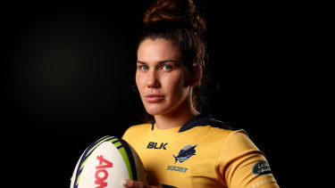 Charlotte Caslick was part of Australia's gold medal-winning side at the 2016 Rio Olympics.