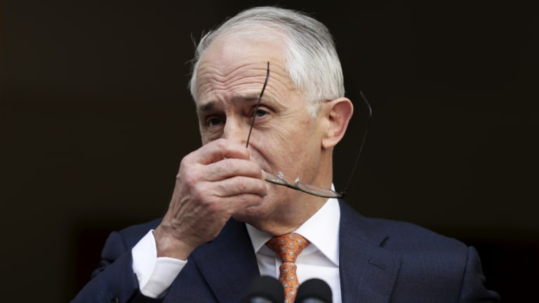 Malcolm Turnbull only has himself to blame for his demise.