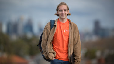 Hamish Webster and a group of his  friends have founded a free tutoring that aims to close the achievement gap between country and city students