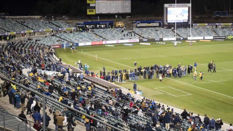 The Brumbies will launch new initiatives next year in the hope fans return to the stands.