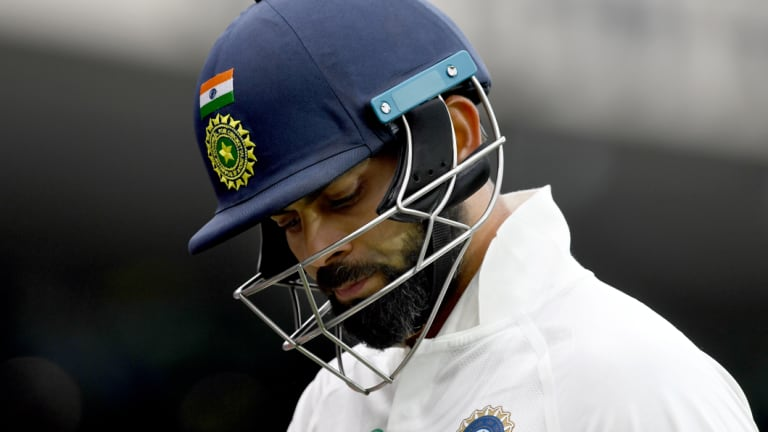 Indian skipper Virat Kohli has trouble with faster spin.