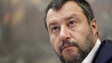League Party leader Matteo Salvini pulled support for the previous coalition.