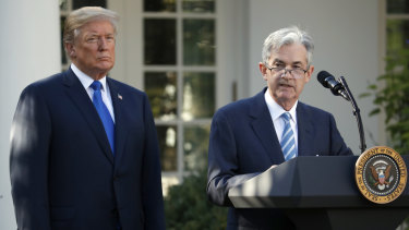 Donald Trump appointed Jerome Powell, but he has been a harsh critic of the Fed chief.