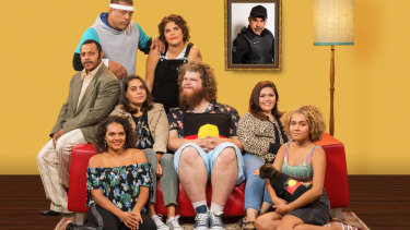 The cast of ABC's Black Comedy, now in its third season.