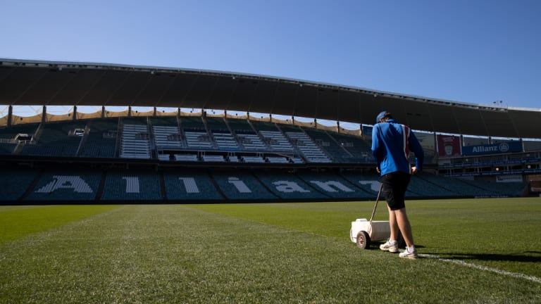 Allianz Stadium could still be standing at the time of the state election in March.