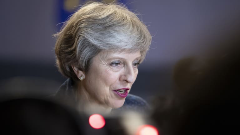 UK Prime Minister Theresa May's already shaky grip on power could be weakened by the resignation of the two 'Brexit' ministers.