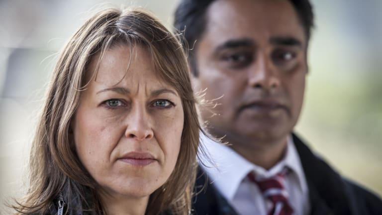 Nicola Walker and Sanjeev Bhaskar star in Unforgotten.