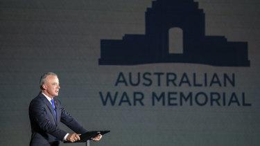 Australian War Memorial director Brendan Nelson announces nearly $500 million in funding to upgrade the war memorial.