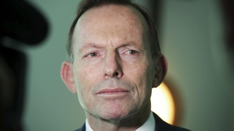 Former Prime Minister Tony Abbott has threatened to cross the floor over the NEG legislation.