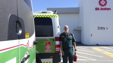 St John Ambulance Director of Clinical Medicine Paul Bailey.