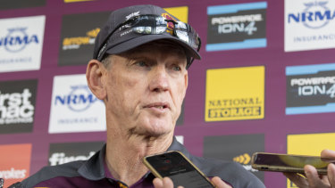 Ousted: Wayne Bennett now appears to be headed for Redfern early.