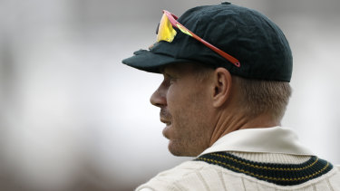 David Warner's run of outs continued after a controversial call by the video umpire.