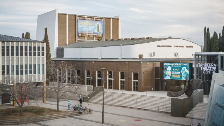 The existing Canberra Theatre could be redeveloped into a live music venue.