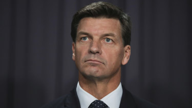 The newly appointed Minister for Energy, Angus Taylor.