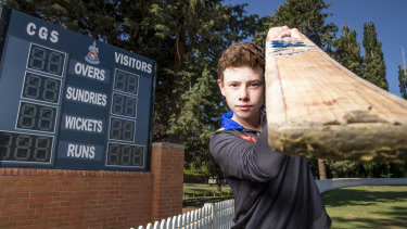 Blake Faunce has been setting junior cricket competitions alight this season, having already scored almost 1000 runs.