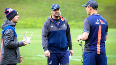 Mounting pressure: Wallabies coach Michael Cheika.