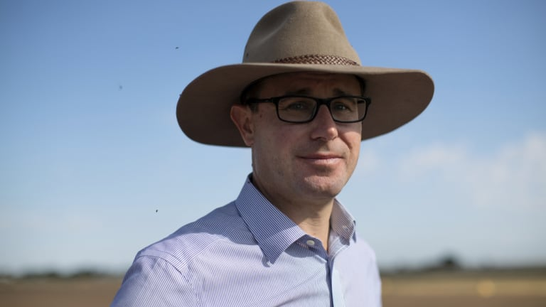 Agriculture Minister David Littleproud let his department cop a shellacking over live exports after it had responded to his party's priorities on live export.