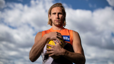 Nick Haynes missed just one game for the GWS Giants after suffering a fracture to cartilage in his larynx.