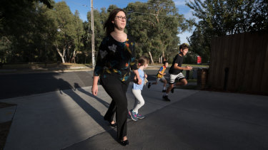 Katie George bought her family's Yallambie home in late 2017, told that the park it faces onto would not be badly affected by the North East Link. Now the road's impacts have been revealed, she wants the government to buy her family's home.