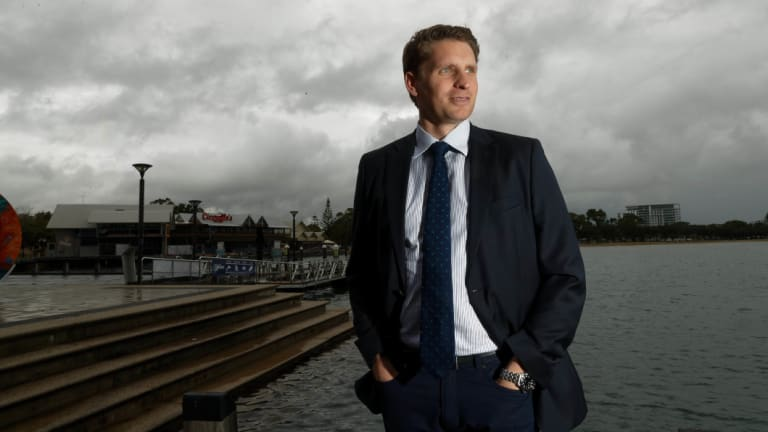 Liberal MP Andrew Hastie, chair of the parliamentary joint committee on intelligence and security.