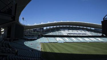 Final days: Allianz Stadium before it undergoes a $730 million rebuild.