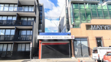 The Melbourne Anarchist club building is for sale.