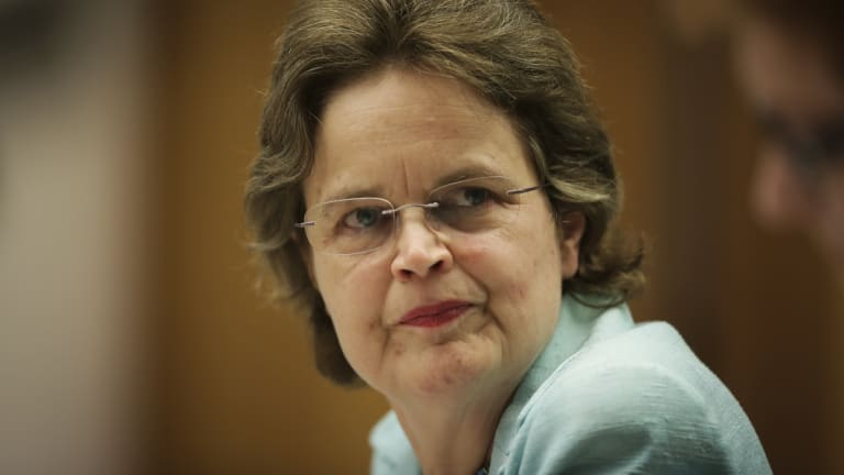 The secretary of the Department of Foreign Affairs and Trade, Frances Adamson, has said moving the embassy to Jerusalem would not be a good idea.