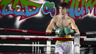 Adrian Farquhar can't wait to get in the ring.