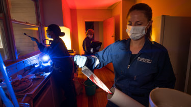 Devil in the detail: Female forensics teams investigating our crime scenes