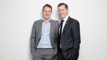 """""""Accidential activists'': Canberra husbands Brooke Horne and Tom Snow dedicated three years of their lives to the marriage equality campaign"""