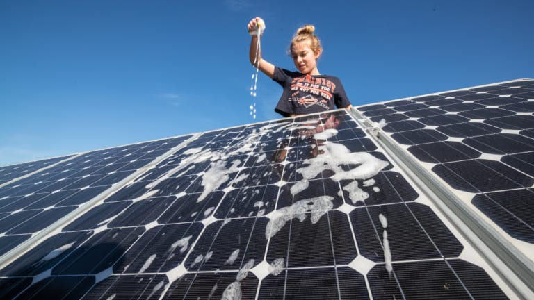 The Clean Energy Regulator found one in five rooftop solar systems were substandard.