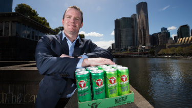 Jarrod Alderton, founder Carabao Australia, is the entrepreneur bringing Thai energy drink to Australia.