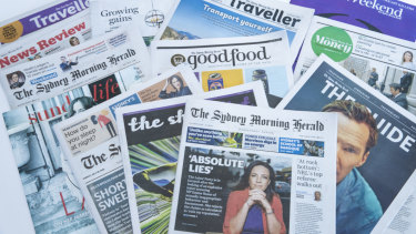 The Sydney Morning Herald finished 2018 as the most-read publication.
