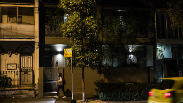 A Surry Hills brothel. Owners estimate up to a third of sex workers are university students.