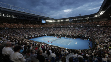 Rod Laver Arena, which hosts the Australian Open.