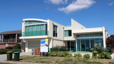 Sharma's house in Wollongong is on the market