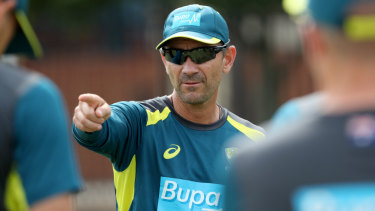 'Be yourself': Justin Langer wants his players to be themselves, but they might need to find themselves first.