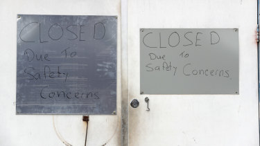 """Oak Flats Roller Skating Rink has since closed """"due to safety concerns""""."""