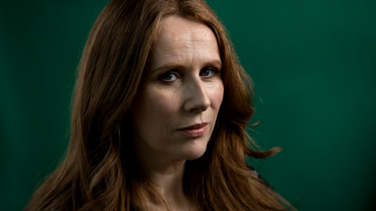 Catherine Tate in Sydney in June this year.