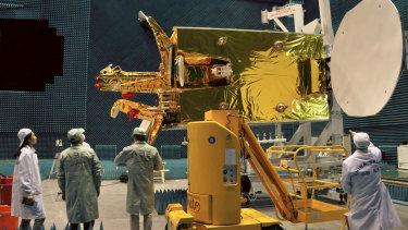 The Tupac Katari satellite