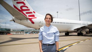 Virgin Australia CEO Jayne Hrdlicka .