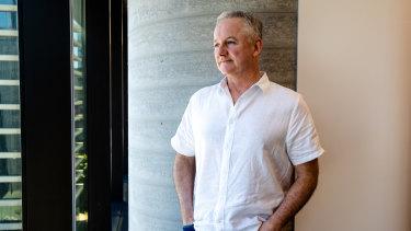 Outgoing Nine CEO Hugh Marks