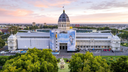 Massive artwork unveiled at the Exhibition Building