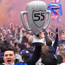 Rangers fans defy lockdown laws to celebrate first title in decade