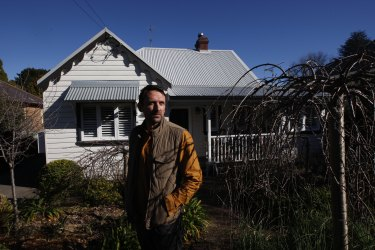 Julian Jones, a long-term Airbnb host in the Blue Mountains.